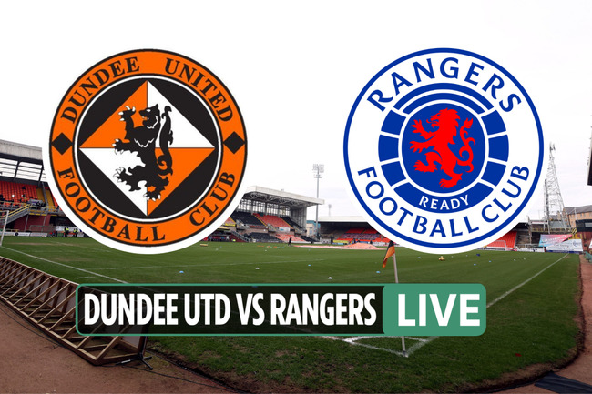 Dundee United vs Rangers LIVE: TV channel, stream, kick-off time as Alfredo Morelos STARTS