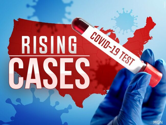 US averaging 100,000 new COVID-19 infections a day