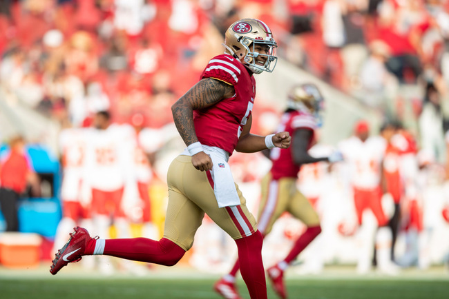 49ers' preseason opener: Trey Lance debuts with TD bomb as fans flock back to Levi's Stadium
