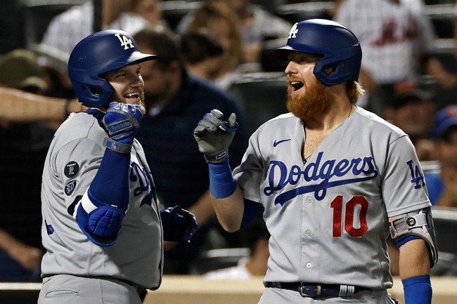 Dodgers hit five home runs, complete three-game sweep of Mets