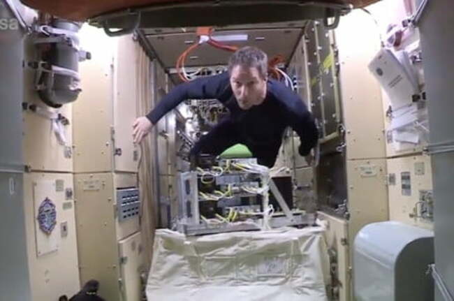 Watch astronaut's tour of the space station's newest module