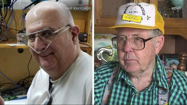 Ham radio enthusiast saves friend having stroke after wrong number call