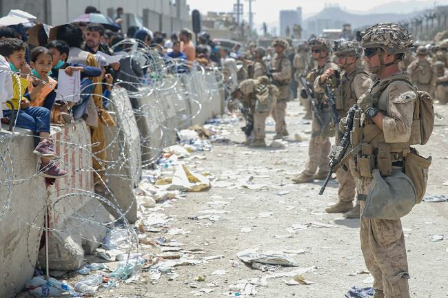 The Latest: India evacuates 168 people on flight from Kabul
