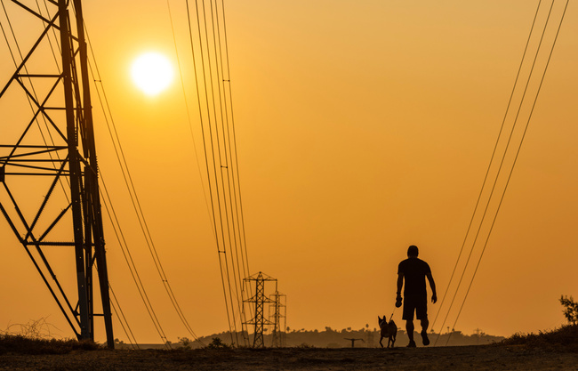 Going up: Your electric bill. Going down: Wildfire risk?
