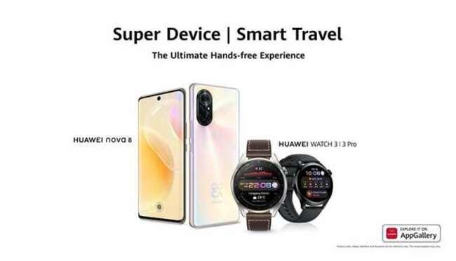 Huawei launches Huawei Watch 3 Series