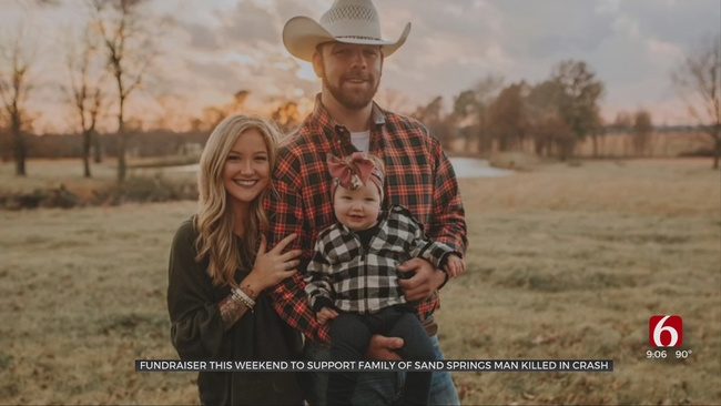 Loved Ones Host Fundraiser To Support Family Of Sand Springs Father Killed In Crash