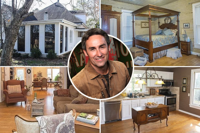 Inside American Pickers star Mike Wolfe's $1M Tennessee bachelor pad after moving out of $2M family mansion amid divorce