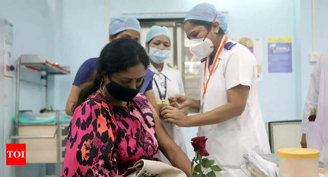 Half of India's adults have now got at least one dose of vaccine