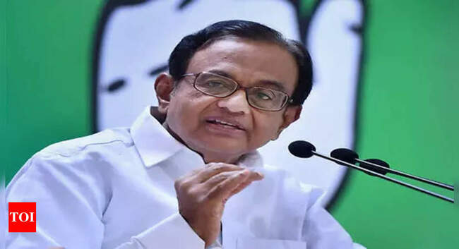 Chidambaram slams ICHR for omitting Nehru's photo from poster celebrating India's Independence