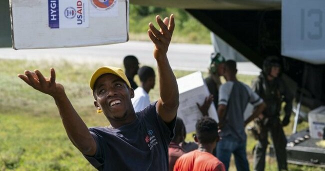 U.S. troops airlift aid to quake-hit southern Haiti amid shift in relief effort - National