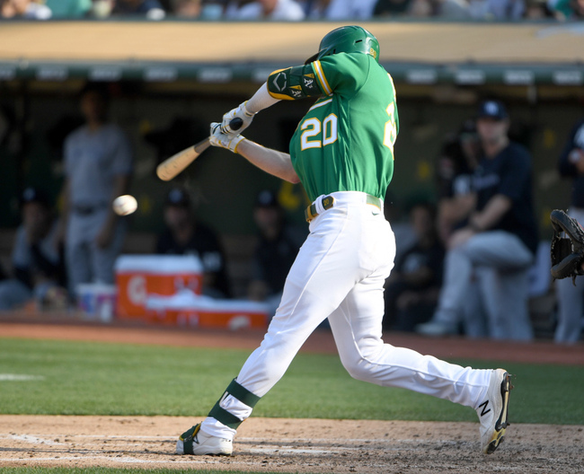 Tony Kemp's late home run salvages frustrating game, A's win over New York Yankees