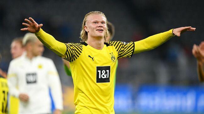 Manchester United make Dortmund's Erling Haaland priority target next season - sources