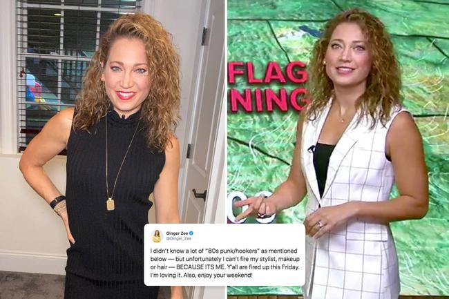 GMA host Ginger Zee slams 'harsh' trolls who claim she looks like a 'hooker' with 'bad makeup' on morning show