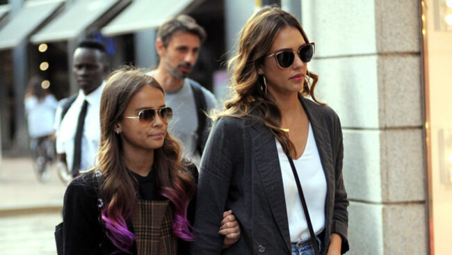 Jessica Alba's Daughter Honor, 13, Looks So Grown Up On First Day Of 8th Grade — Photos