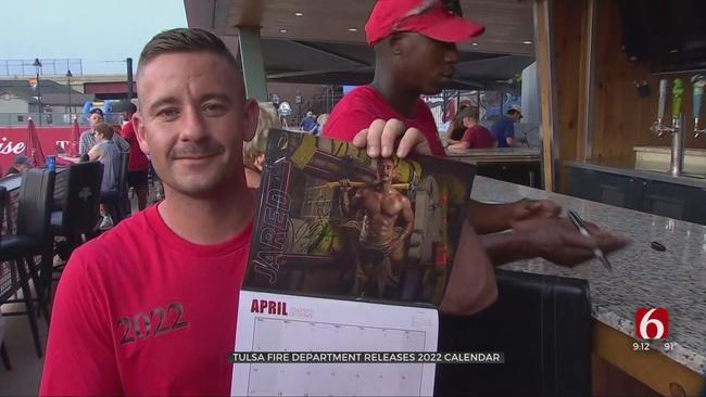 Tulsa Fire Department Releases 2022 Calendar As Museum Fundraiser
