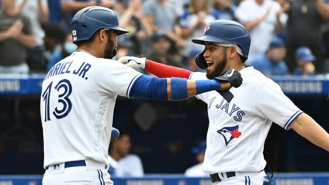 Bottom of Blue Jays' order making meaningful contributions against A's