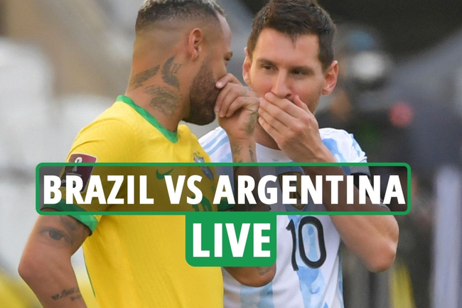 Brazil vs Argentina LIVE: Latest as Neymar and Messi face off in World Cup qualifier – stream, score, TV channel