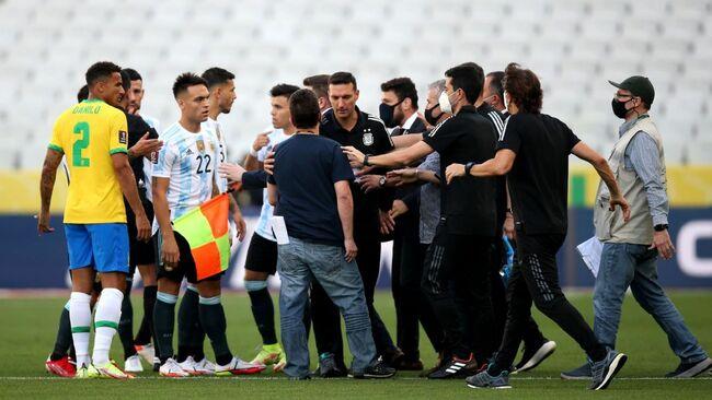 Brazil-Argentina World Cup qualifier suspended after health officials intervene