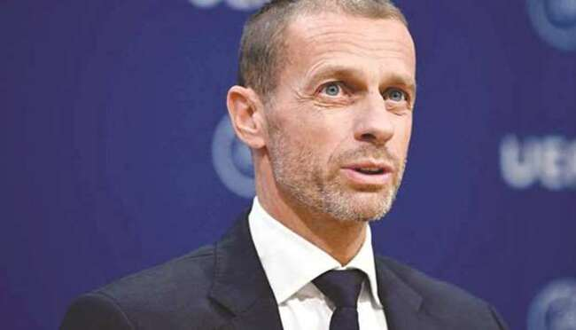 UEFA's Ceferin says biennial World Cup would 'dilute' tournament