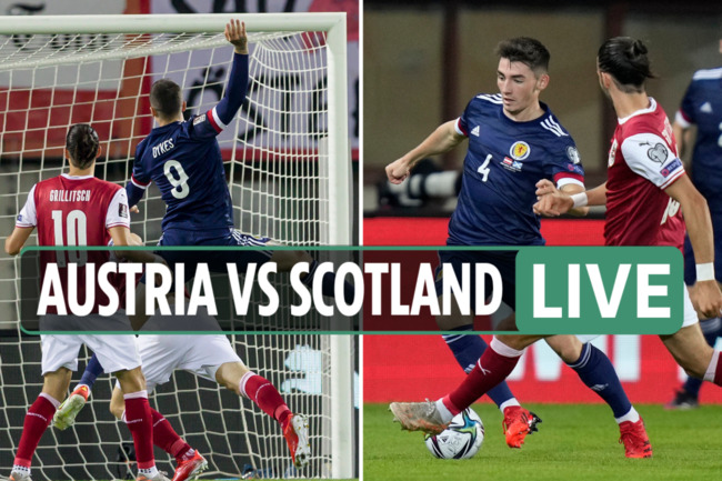 Austria vs Scotland LIVE: Stream, TV channel, score as Dykes fires home VAR penalty – latest World Cup qualifier updates
