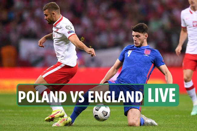 Poland vs England LIVE: Lewandowski and Kane leading the lines –  stream FREE, score, TV channel, latest updates