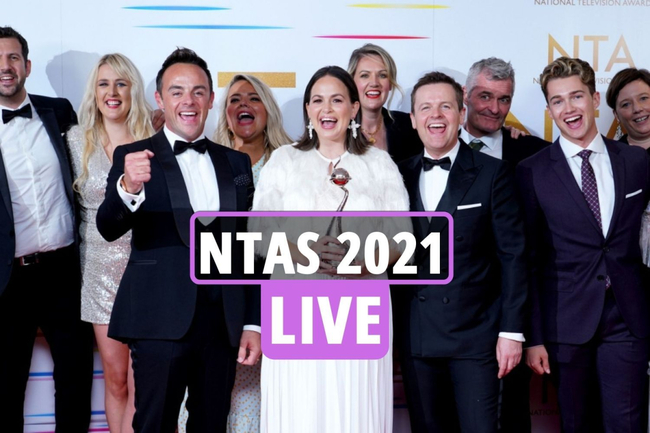 NTA Awards 2021 results LIVE: I'm A Celebrity and Line Of Duty win gongs as Holly Willoughby and co stun on red carpet