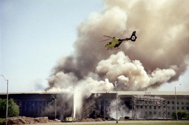 Staff writer recalls seeing the Pentagon on fire on 9/11