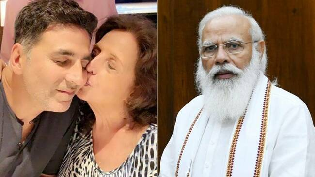'These comforting words will stay with me forever': Akshay Kumar responds to PM Modi's condolence message after mom's death