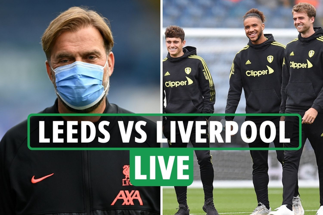 Leeds vs Liverpool LIVE: Stream, TV channel, team news as Daniel James on BENCH for debut – latest updates