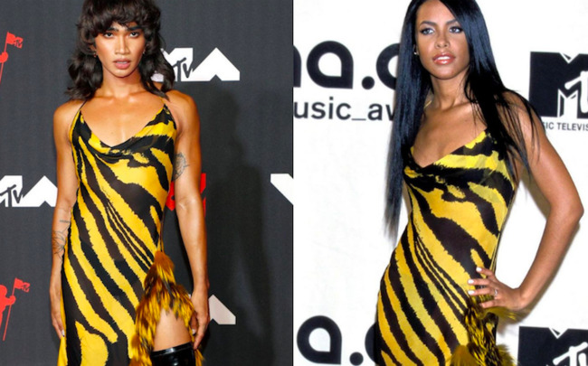 Bretman Rock rocks Aaliyah's look two decades later