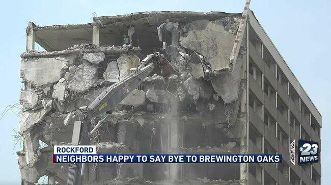 Brewington Oaks neighbors happy to see it go