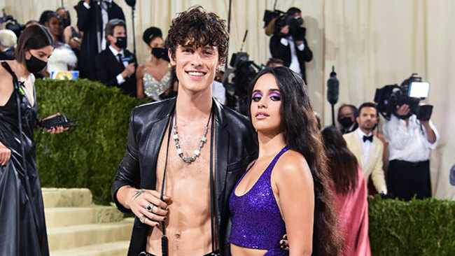 Camila Cabello & Shawn Mendes Pay Homage To Sonny & Cher With Their Met Gala Looks