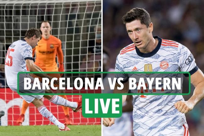 Barcelona 0-3 Bayern Munich LIVE RESULT: Lewandowski nets double as Germans run riot in Champions League opener