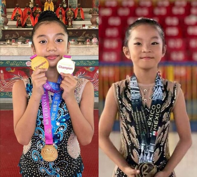 2 young Cebuana gymnasts to vie in Georgia online tournament