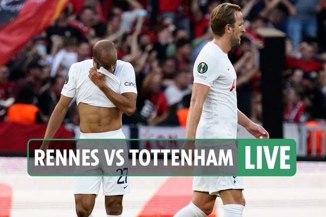 Rennes vs Tottenham LIVE: Stream FREE, score, TV channel as Hojbjerg levels – Europa Conference League latest