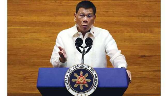 Duterte 'will not co-operate with ICC drug war probe'