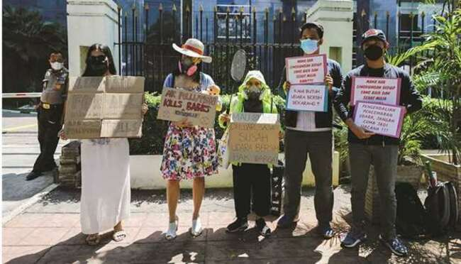 Indonesia court finds president negligent in pollution lawsuit