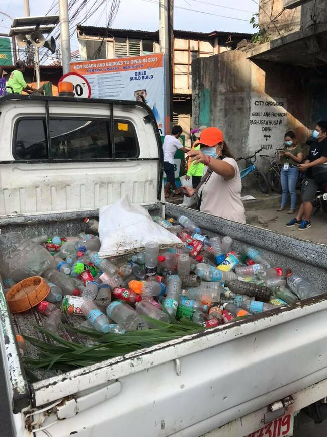 4 tons of garbage collected from Mahiga Creek