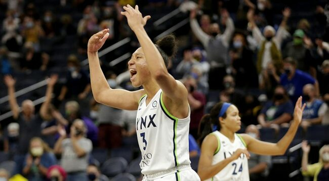 Powers scores 27, Lynx keep Mystics out of playoffs