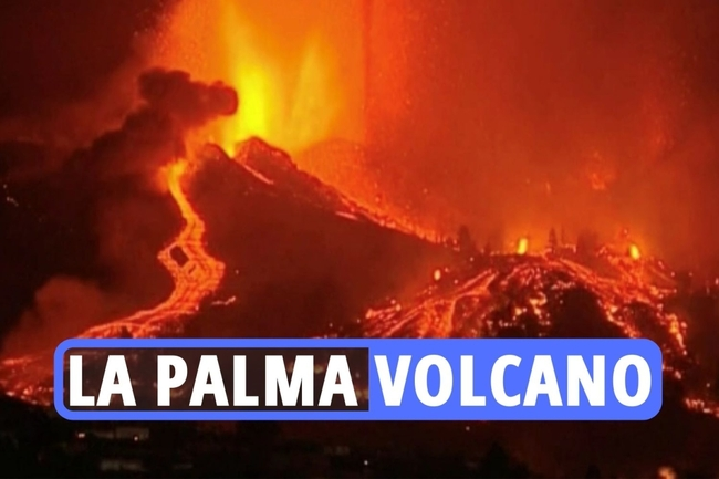 La Palma volcano latest – Brits flee in panic as Canary Island crater erupts forcing 5,000 peope to evacuate