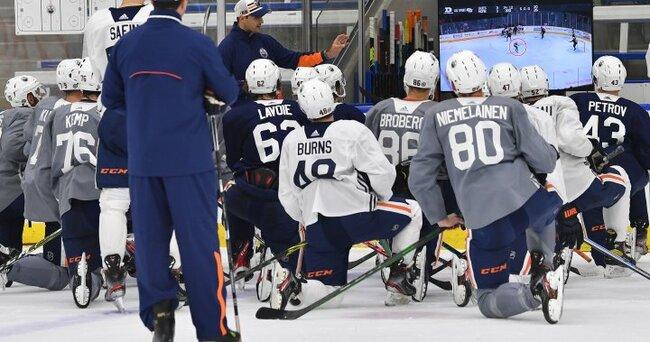 Edmonton Oilers rookies come up short in Calgary