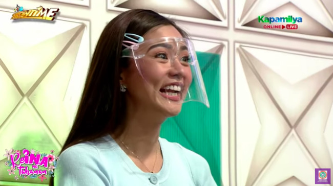 Kim Chiu comments about cheating on It's Showtime