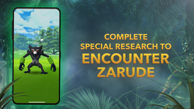 'Pokemon Go' analysis: Zarude and shiny Rufflet are the big catches for 'Secrets of the Jungle' event