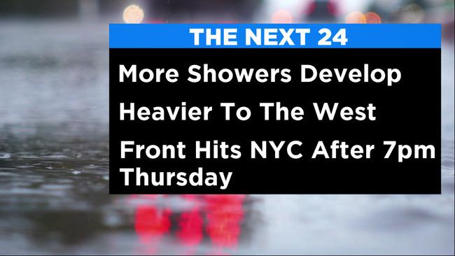 New York Weather: CBS2's 9/23 Thursday Morning Forecast