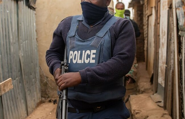 Four arrested after shootout between police, JMPD and 20 suspected illegal miners