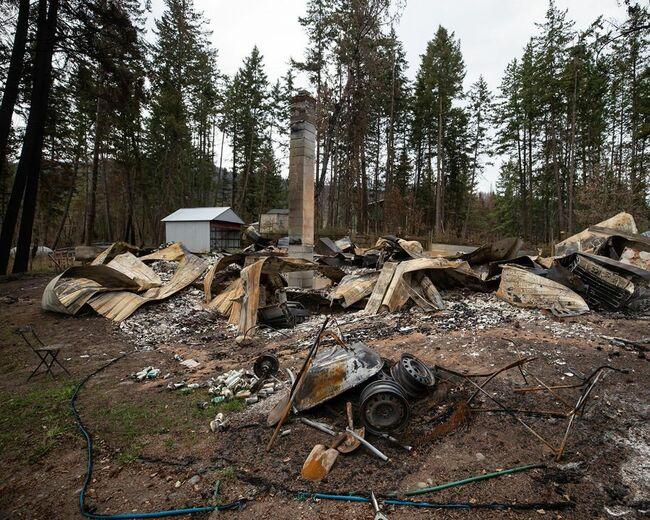 Massive B.C. wildfire causes $77 million in insurance damage