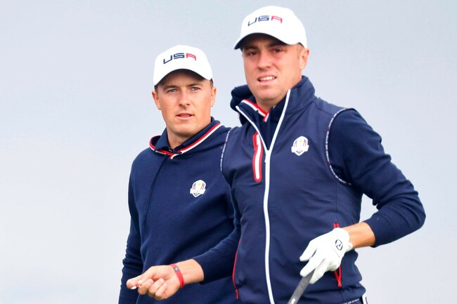 Ryder Cup morning round pairings: Jordan Spieth, Justin Thomas to go off first