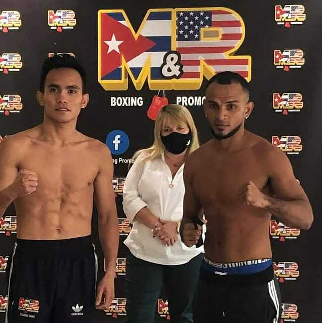 Duno makes weight for non-title fight with Colombian Perez in Florida