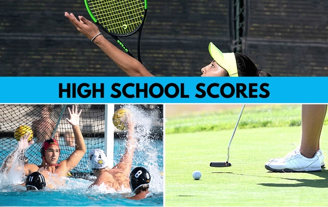 Orange County scores and player stats for Thursday, Sept. 23