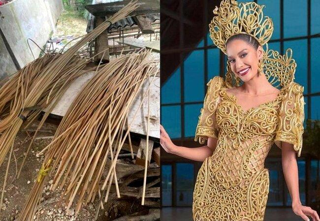 Steffi Aberasturi highlights Sto. Niño, rattan in national costume